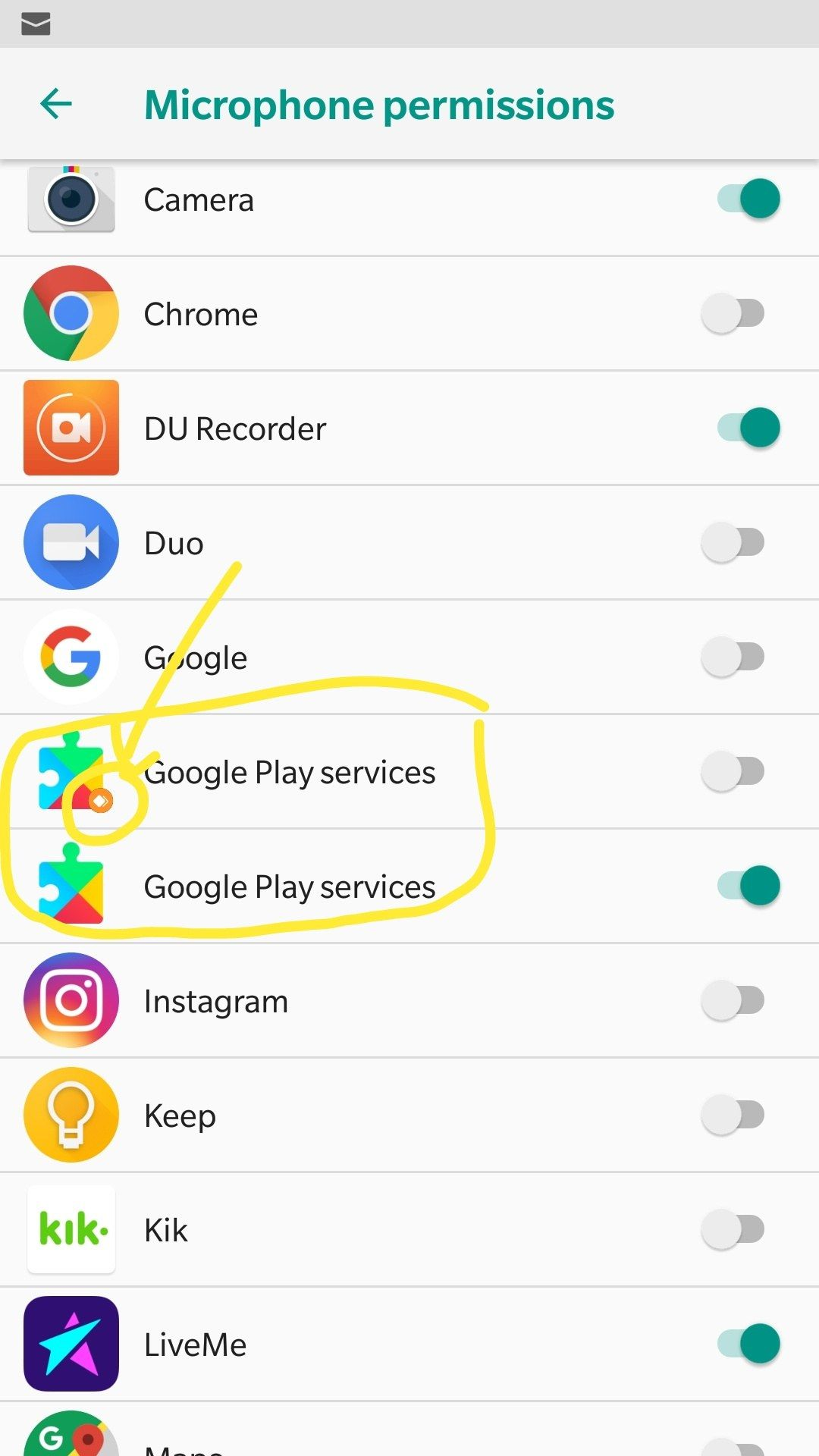 Two google play services? - OnePlus Community