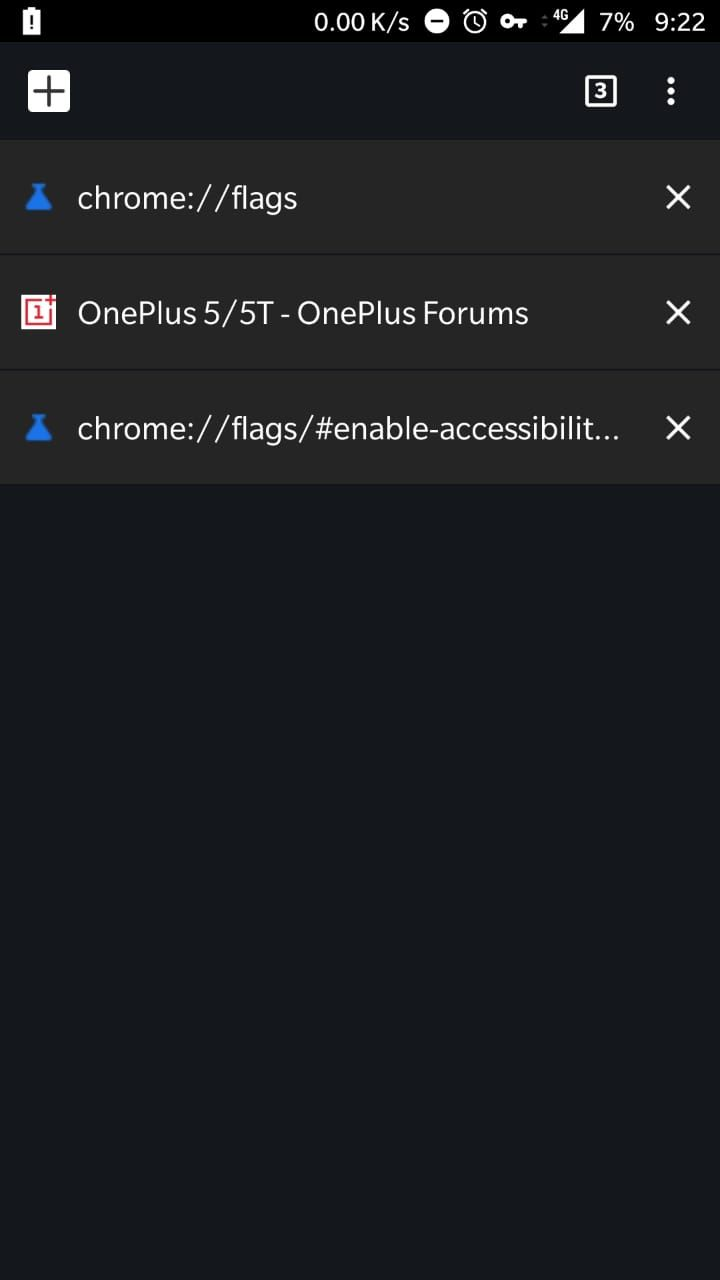 Solved] Chrome accessibility tab switcher not working