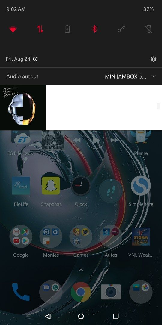 Display issue with power amp, is this a OnePlus issue or