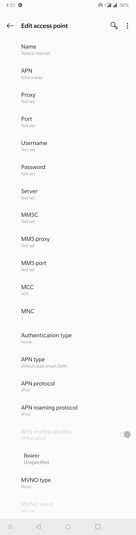 Network/Connectivity - [SOLVED] No Data with Hotspot after