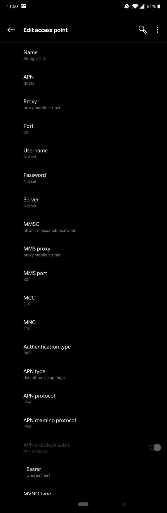 pie update mobile data and mms not working - OnePlus Community