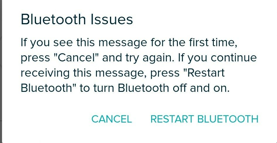 Fitbit not syncing after Android P OTA - OnePlus Community