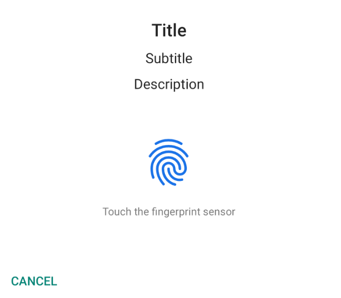 OxygenOS - What's wrong with OnePlus 6T fingerprint API