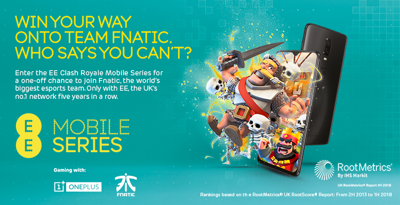 Become an esports pro! Join the EE Mobile Series, powered by