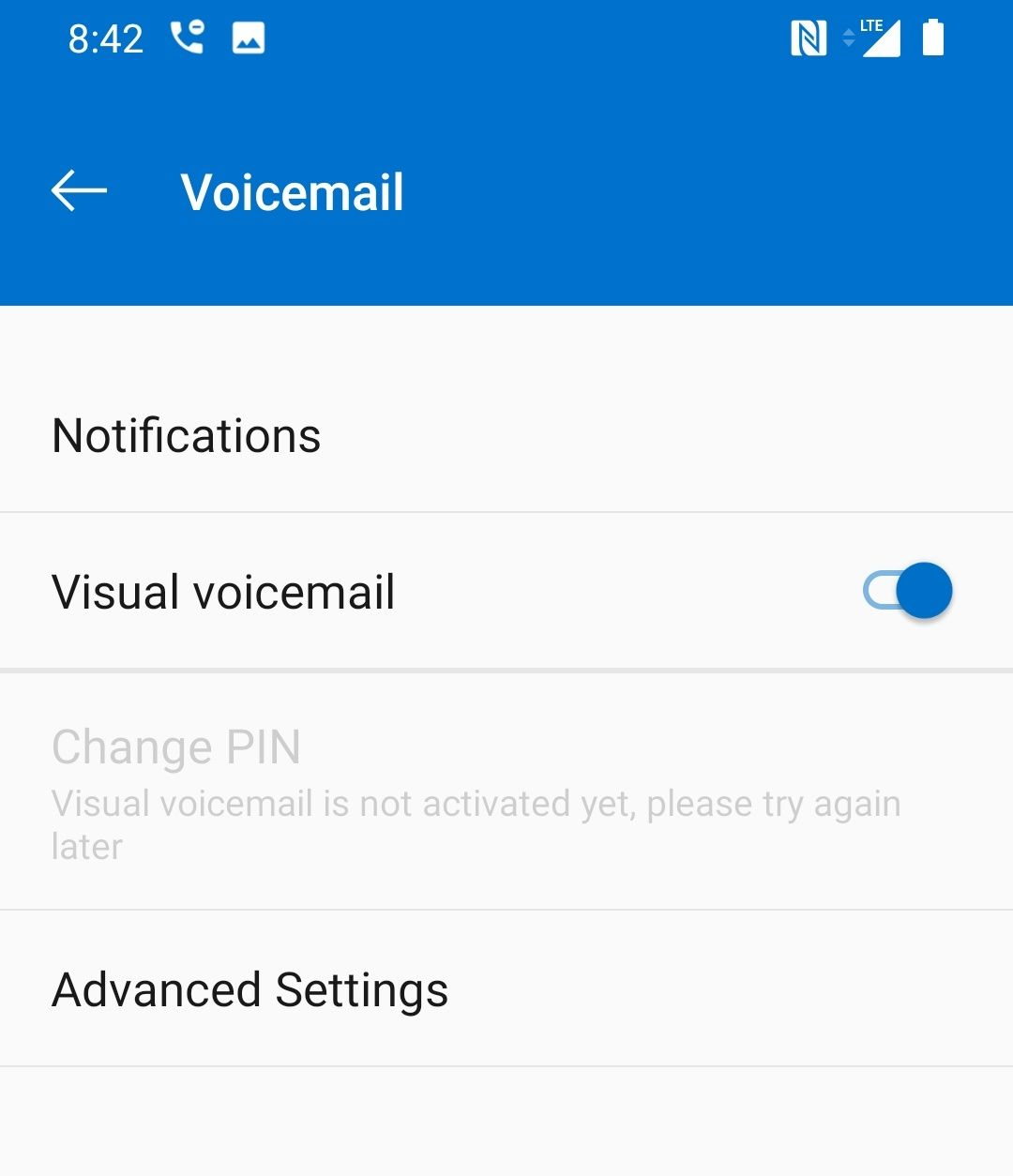 Network/Connectivity - OP6T Visual Voicemail - OnePlus Community