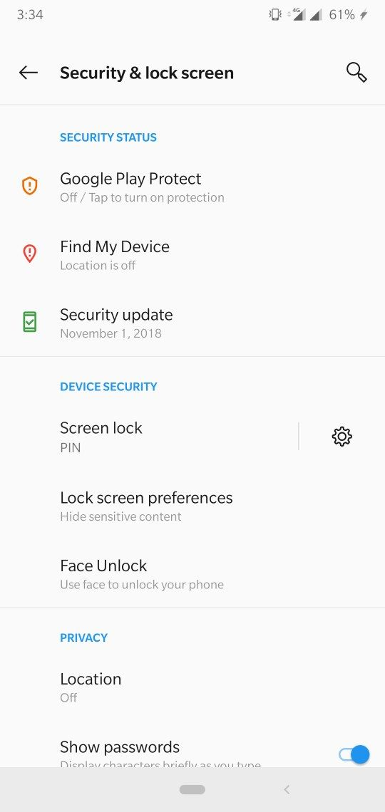 fingerprint unlocking option missing   - OnePlus Community