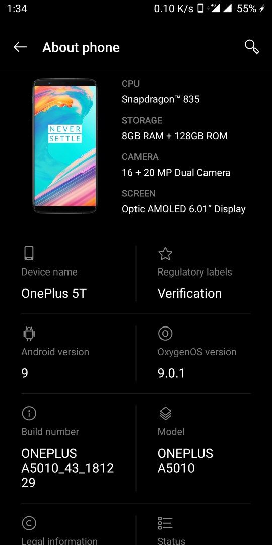 Google Camera for Oneplus 5t with android pie - OnePlus