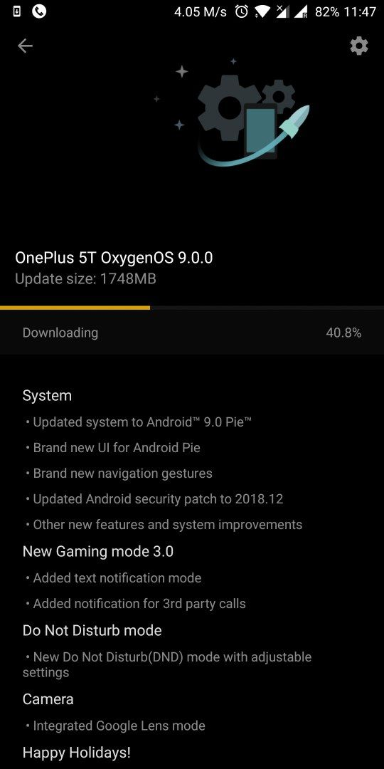 Moving the time to the right corner  - OnePlus Community