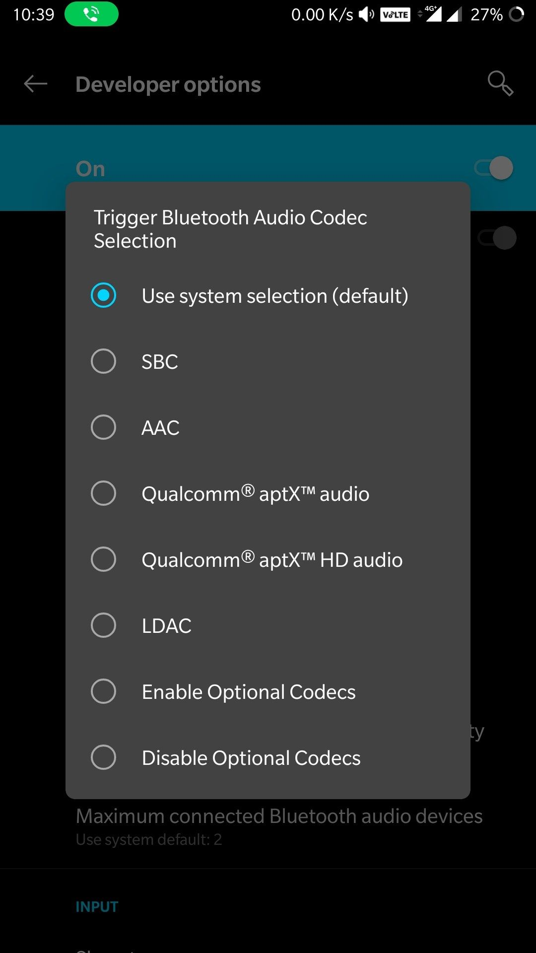 Bug or what??] Android pie developer mode - OnePlus Community