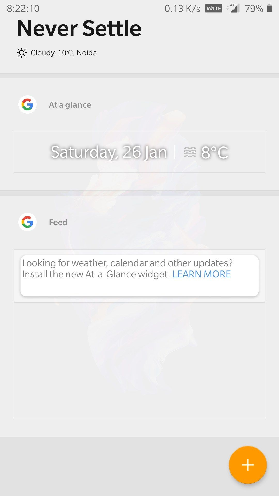 Google feed is not working - OnePlus Community