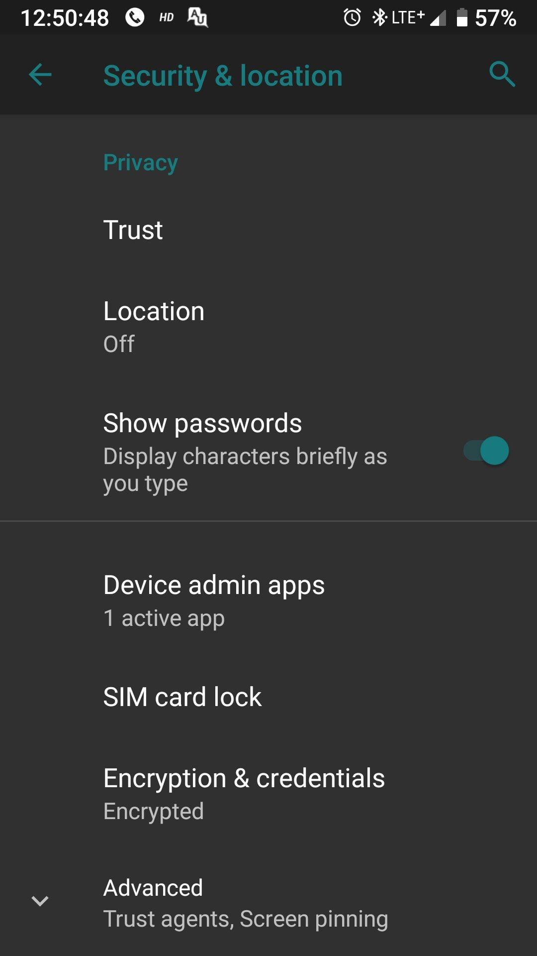 Any pie custom rom which supports encryption for 3/3T