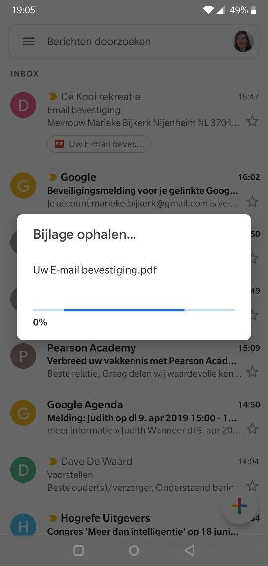 gmail attachments don't download!! - OnePlus Community