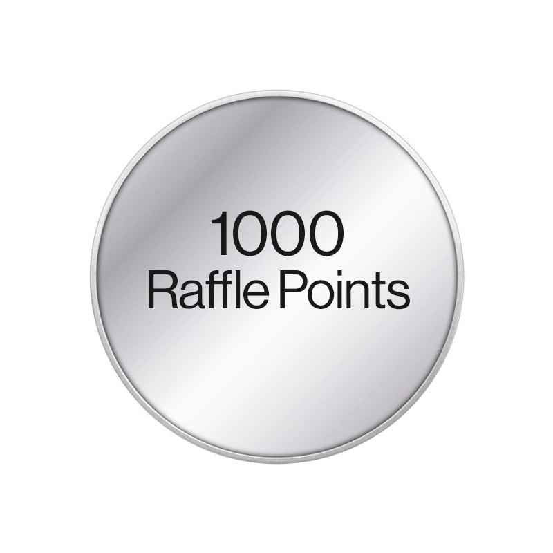 1000 Raffle Points